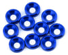 Image 1 for V-Force Designs 3mm Countersunk Washers (Blue) (10)