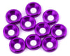 V-Force Designs 3mm Countersunk Washers (Purple) (10)