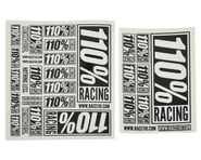 110% Racing Logo Sticker Pack (2) | product-related