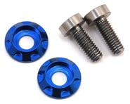 """175RC 3x8mm Titanium """"High Load"""" Motor Screws (Blue) 