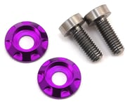 """175RC 3x8mm Titanium """"High Load"""" Motor Screws (Purple) 