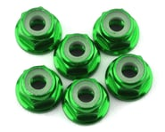 175RC Lightweight Aluminum M3 Flanged Lock Nuts (Green) (6) | product-also-purchased