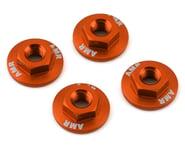 AMR 4mm Aluminum Serrated Flange Nut (Orange) (4)   product-also-purchased