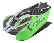 Arrma Green Trim Body with Decals for Typhon 4X4 Mega ARA402272 | product-related
