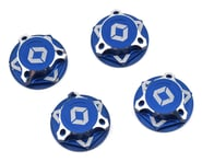Avid RC Triad 17mm Fine Thread Capped Wheel Nut Set (Blue) (4) (M12x1.0) | product-also-purchased