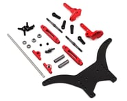 """DragRace Concepts Team Associated DR10 Anti Roll Bar """"ARB"""" System (Red) 