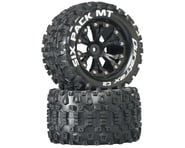 DuraTrax Sixpack MT 2.8 Mounted Truck Tires 2WD Rear Black DTXC3520 | product-related