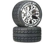 DuraTrax Bandito ST 2.8 Mounted Truck Tires 2WD Rear Chrome DTXC3543 | product-related