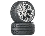 DuraTrax Bandito ST 2.8 Mounted Truck Tires 1/2 Offset Chrome DTXC3545 | product-related