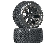 DuraTrax Picket ST 2.8 Mounted Truck Tires 2WD Rear Black DTXC3548 | product-related