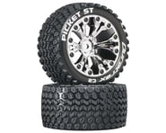 DuraTrax Picket ST 2.8 Mounted Truck Tires 2WD 1/2 Offset Chrome DTXC3551   product-related