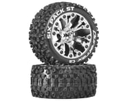 DuraTrax Sixpack ST 2.8 Mounted Truck Tires 2WD 1/2 Offset Chrome DTXC3563 | product-related