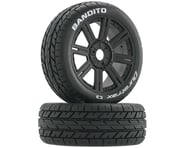 DuraTrax Bandito Buggy Tire C3 Mounted Spoke Black DTXC3656 | product-related