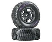 DuraTrax Posse SC Tire C2 Mntd Blk Slash Blitz SCRT10 (2) DTXC3695 | product-related