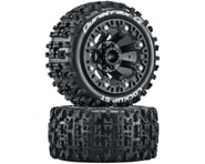 DuraTrax Lockup ST 2.2 Black Pre-Mounted Tires (2) DTXC5101   product-related
