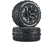 DuraTrax Sidearm ST 2.2 Black Pre-Mounted Tires (2) DTXC5109 | product-related