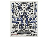 """Firebrand RC Concept Dragon Decal (Blue) (8.5x11"""") 