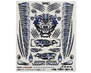 """Firebrand RC Concept Tiger Decal Sheet (Blue) (8.5x11"""")   product-related"""