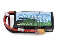 Gens Ace Adventure High Voltage 3600mAh 3S1P 11.4V 50C Lipo Battery with XT60 Plug GA-A-50C-3600-3S1P-S-HV-XT60 | product-related