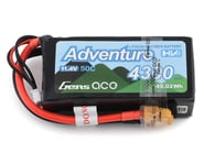 Gens Ace Adventure High Voltage 4300mAh 3S1P 11.4V 50C Lipo Battery GA-A-50C-4300-3S1P-S-HV-XT60 | product-related