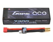 Gens Ace 7200mAh 7.4V 70C 2S1P HardCase Lipo Battery Pack 10# with 4.0mm Bullet to Deans Plug GA-B-70C-7200-2S1P-HardCase-10 | product-related