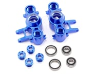 Team Integy Evo3 Aluminum Steering Block Set (Blue) | product-also-purchased