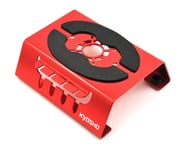 Kyosho Car Maintenance Stand w/Shock Holder & Magnet (Red) | product-also-purchased