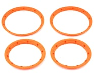 Losi Beadlock Set, Inner & Outer Flour Orange(2): 5T LOS45007   product-related