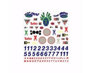 PineCar Sponsor & Number Decal PINP306 | product-related