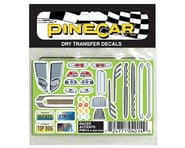 PineCar Racer Accents Dry Transfer PINP4014   product-related
