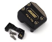 Samix SCX10 III Brass Differential Cover (Black)   product-also-purchased