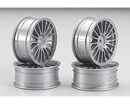Tamiya Medium Narrow 18-Spoke 1/10 Scale On Road Wheels (Silver) (4) | product-also-purchased