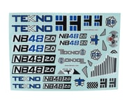 Tekno RC NB48 2.0 Decal Sheet | product-also-purchased