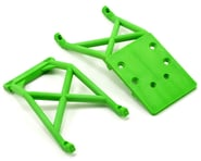Traxxas Skid Plates Front/Rear Green TRA3623A | product-related
