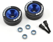 Traxxas Blue Aluminum Wheels (2), Rubber Tires (2) TRA5186A   product-also-purchased