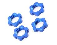 Traxxas Wheel Nuts Splined 17mm Blue-Anodized Revo/T-Maxx 3.3/E-Revo/Summit (4) TRA5353   product-related