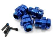 Traxxas XO-1 Aluminum 17mm Splined Wheel Hubs Blue TRA6469 | product-related