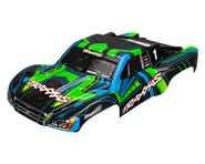 Traxxas Slash 4X4 Painted/Decaled Body Green/Blue TRA6844X | product-related