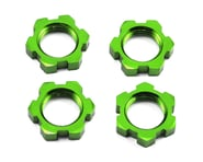Traxxas Serrated 17mm Splined Wheel Nuts in Green (4) TRA7758G | product-related