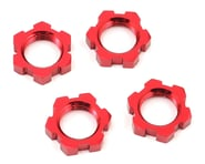 Traxxas Red Wheel Nuts Splined 17mm Serrated 4) TRA7758R | product-related