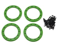 """Traxxas Aluminum 2.2"""" Beadlock Rings Green with 2x10 CS TRA8168G   product-related"""