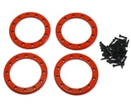 """Traxxas Aluminum 2.2"""" Beadlock Rings Red with 2x10 CS TRA8168R   product-related"""