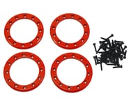 """Traxxas Aluminum 1.9"""" Beadlock Rings Red with 2X10 CS TRA8169R   product-related"""
