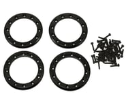 """Traxxas Aluminum 1.9"""" Beadlock Rings Black with 2X10 CS TRA8169T   product-also-purchased"""