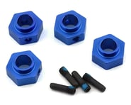 Traxxas Alum 12mm Hex Wheel Hubs with Screw Pins Blue TRA8269X   product-related