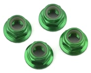 Traxxas 5mm Flanged Nylon Serrated Locking Nuts Green TRA8447G   product-related