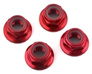 Traxxas 5mm Flanged Nylon Serrated Locking Nuts Red TRA8447R   product-related