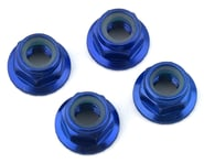 Traxxas 5mm Flanged Nylon Serrated Locking Nuts Blue TRA8447X   product-related