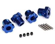 Traxxas Wheel Hubs Splined 17mm Blue-Anodized (4) TRA8654 | product-related