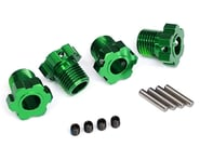 Traxxas Wheel Hubs Splined 17mm Green-Anodized (4) TRA8654G | product-related